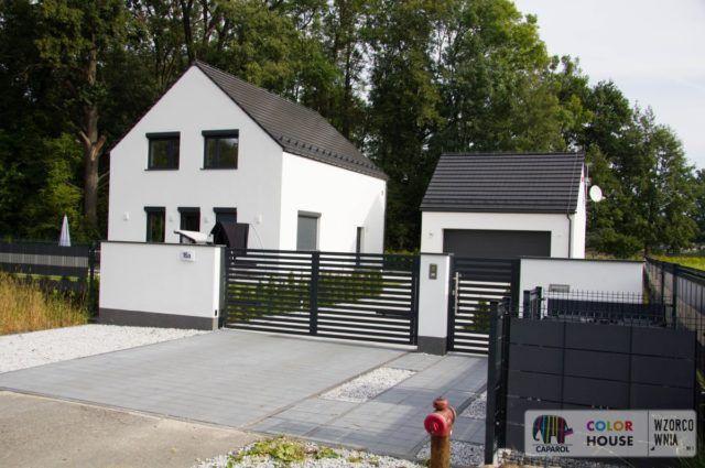 Nowoczesny dom z garażem